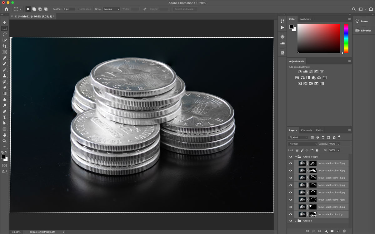 Focus Stacking in Photoshop | Create