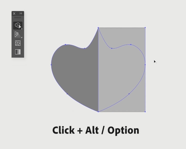 Ilrator S Shape Builder Tool Lets Me Quickly Erase Or Separate Overling Parts Of The Artwork See Video Above To I Select Shapes