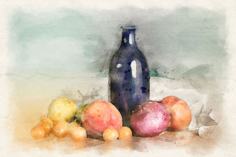 Transform Photos into Watercolors with a Free Photoshop