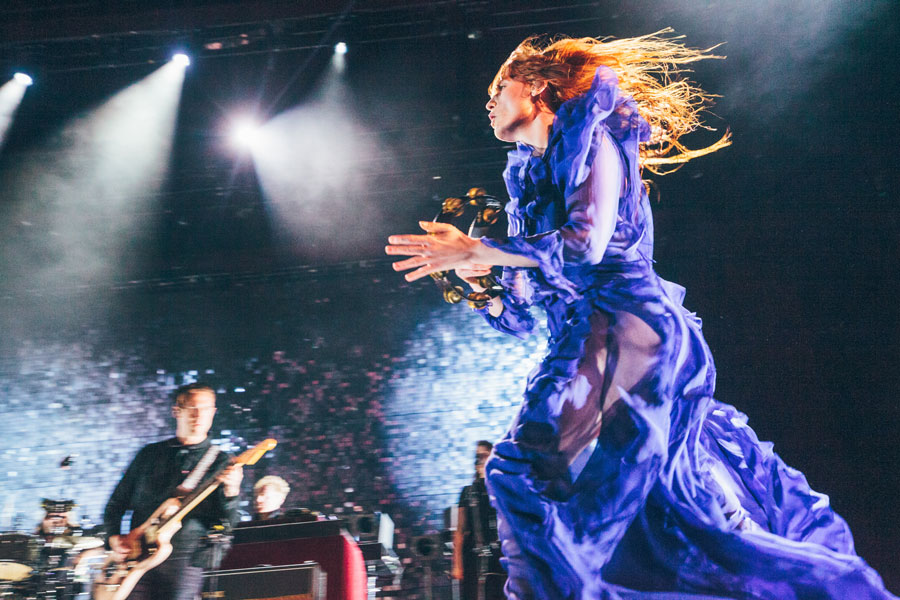Florence + the Machine, Barclays Center, 2016. Copyright Dana Pacifico.