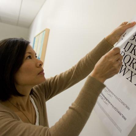 headshot of designer Cynthia Fong