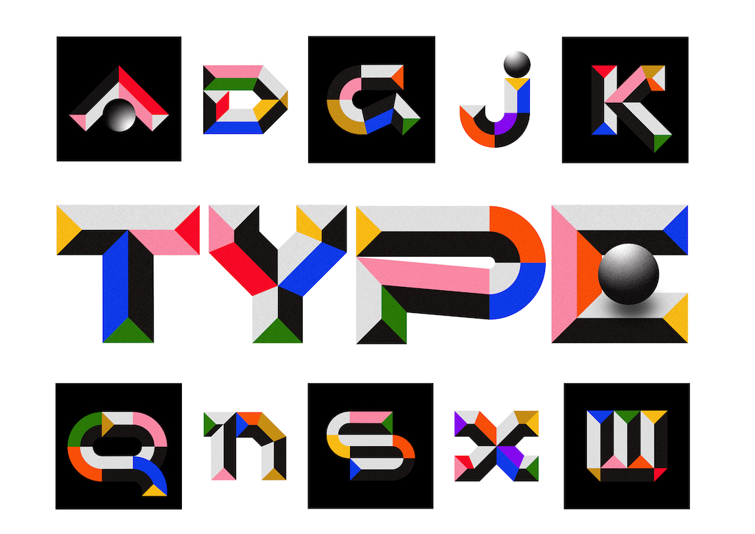 An experimental 36 Days of Type project by Arkitype.