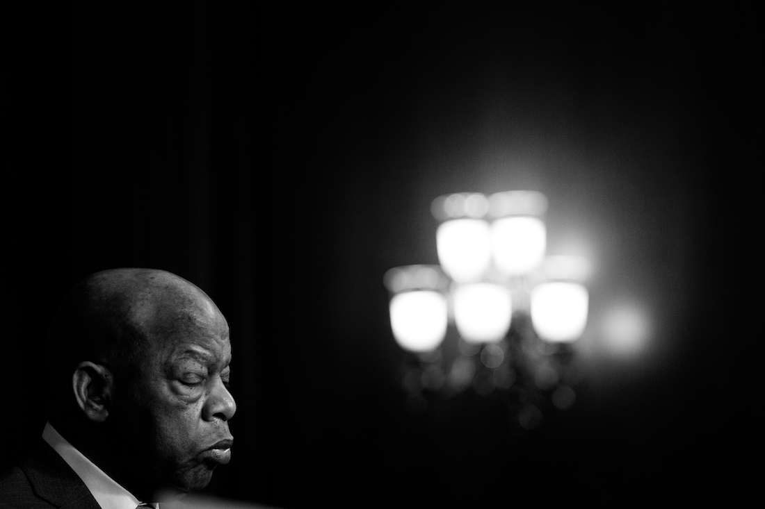 photograph of Congressman John Lewis, by Cheriss May