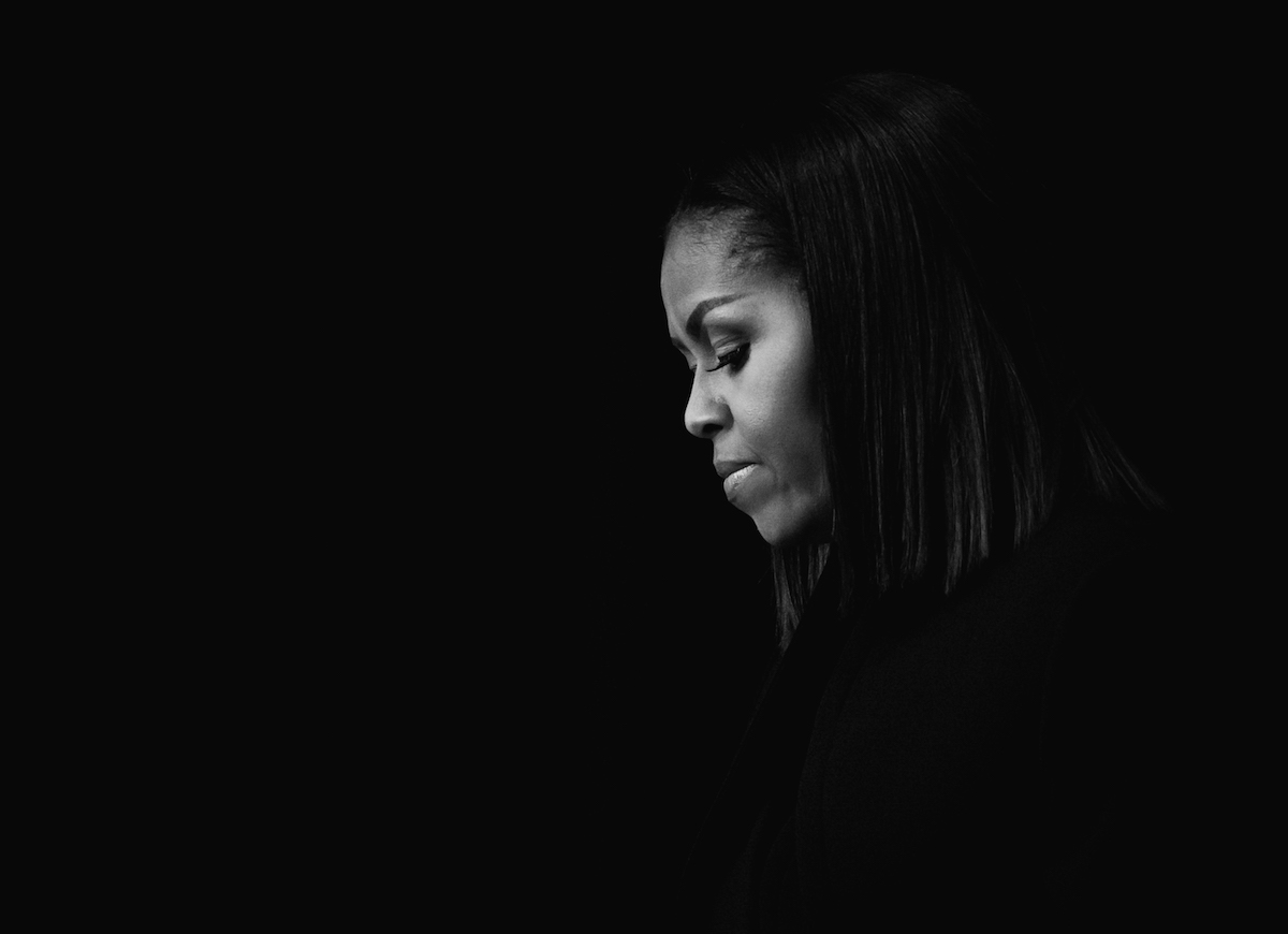 photograph of first lady Michelle Obama by Cheriss May